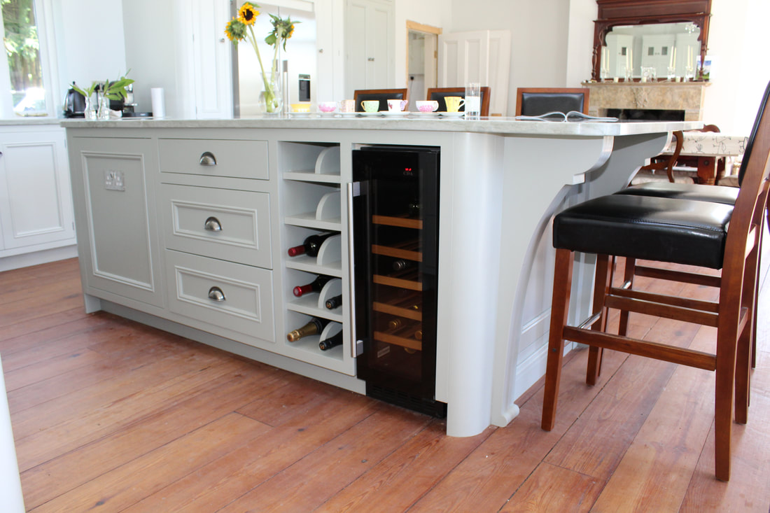 perfect place to store wine in kitchen