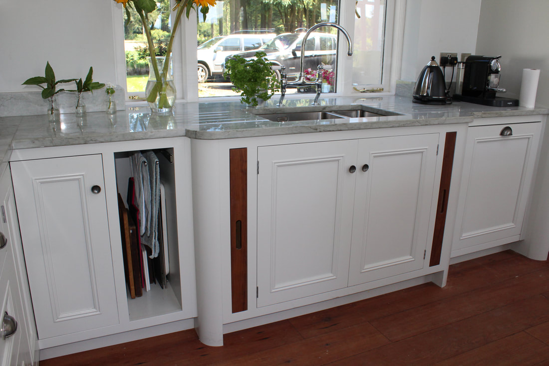 handmade kitchen sink white wood